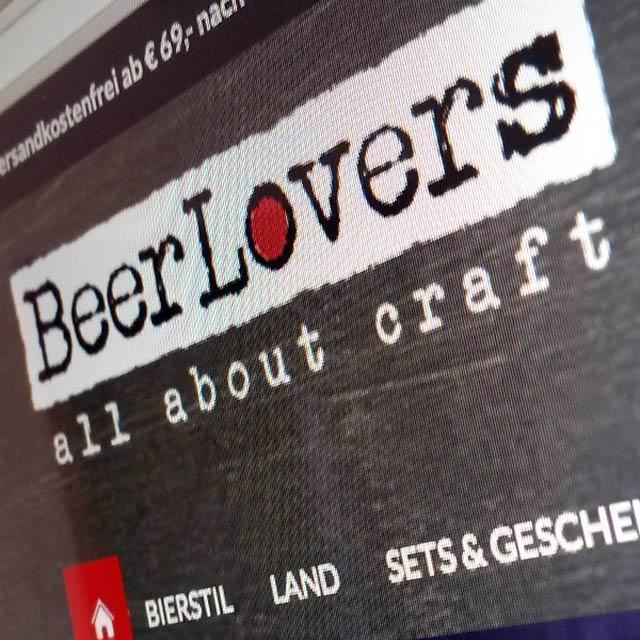 BeerLovers Onlineshop Teaser