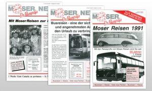 Moser Reisen Folder